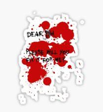 Dear Jim... Sticker