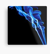 Smoke Photography. Metal Print