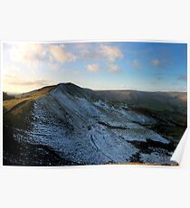 Lord's Seat from Mam Tor Poster
