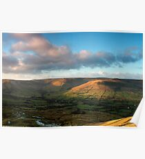 Grindslow Knoll and Jacob's Ladder, Edale Poster