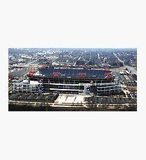 LP Stadium Nashville TN - From The Roof of VIRIDIAN 2012 Photographic Print
