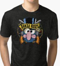 Gonzo Roses Tri-blend T-Shirt