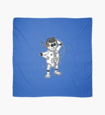 retro robot -the groover t-shirt Scarf