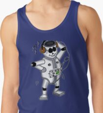 retro robot -the groover t-shirt Tank Top