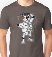 retro robot -the groover t-shirt Unisex T-Shirt