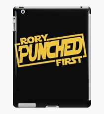 Rory punched first - Star Wars Doctor Who meshup iPad Case/Skin