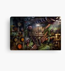 Steampunk - Naval - The comm station Canvas Print
