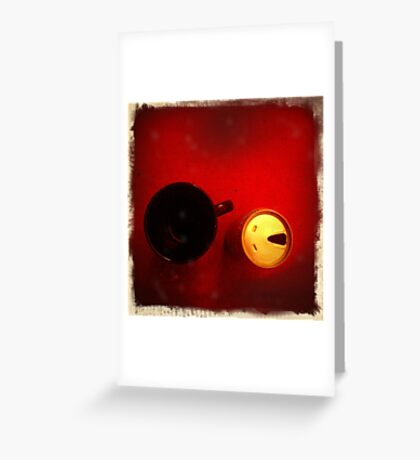 Coffee & Beer Greeting Card