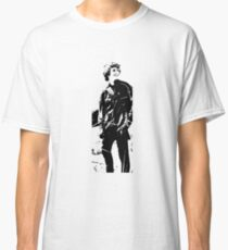 Man on a mountain Classic T-Shirt