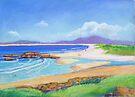South West Rocks Pastel  # 4 by Virginia McGowan