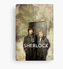 BBC Sherlock Metal Print