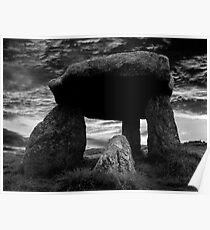Mysterious Lanyon Quoit Poster