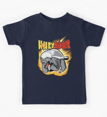 Honey Badger. He's OVER 9000!  Kids Clothes