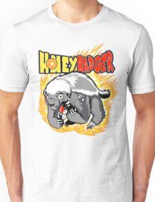 Honey Badger. He's OVER 9000!  Unisex T-Shirt