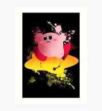 Kirby Art Print Art Print