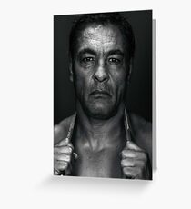 Rickson Gracie Greeting Card