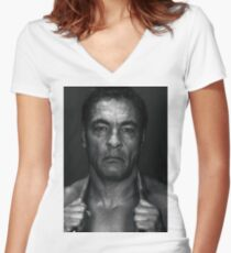 Rickson Gracie Women's Fitted V-Neck T-Shirt