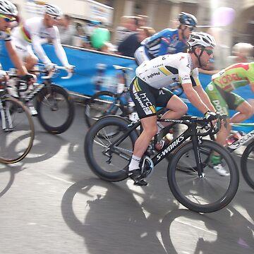 Mark Cavendish at Tour of Britain, London 2011 by eggnog