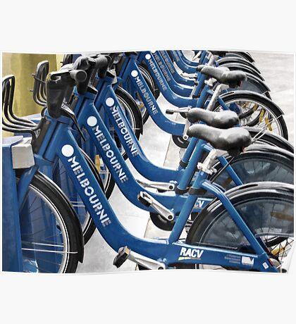 Melbourne Bike Share Poster