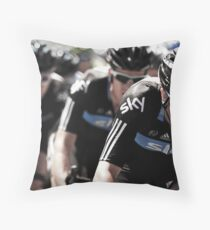 Team Sky Throw Pillow