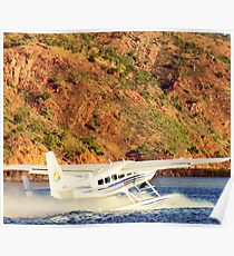 Taking off in the Kimberleys Poster