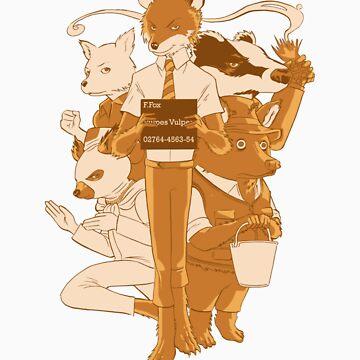 Fantastic Mr Fox by PopcornIllus