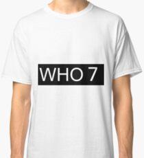 Who 7 Classic T-Shirt