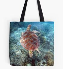 On the Move- Turtle Tote Bag