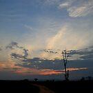 Ugandan Sky by Stephen Monro