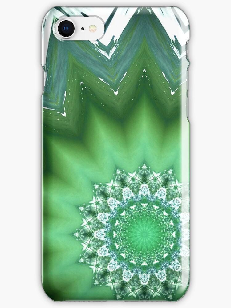 iPhone/iPod Touch Case - Kaleidoscope wave by Joseph Rotindo