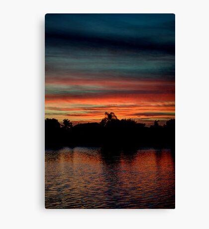 South Florida Sunset Canvas Print