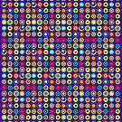 Poke-A-Dots - Indigo [iPhone case] by Damienne Bingham