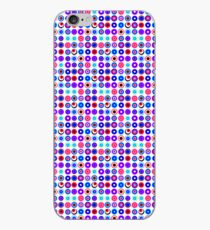 Poke-A-Dots - Purple Negative [iPhone case] iPhone Case
