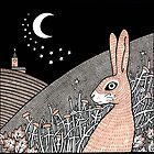 Star Gazing Hare by Anita Inverarity
