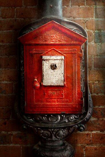 Fireman - The fire box by Michael Savad
