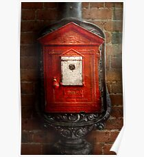 Fireman - The fire box Poster