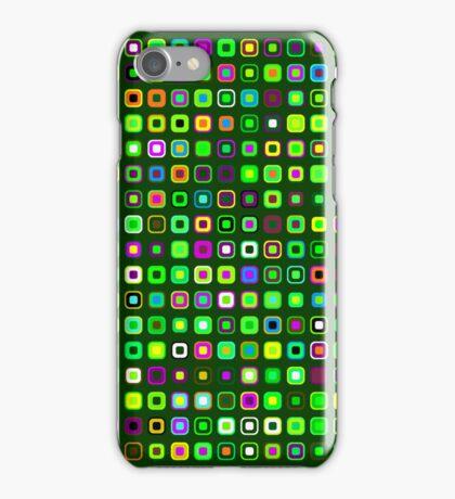 Retro Squares - Green [iPhone case] iPhone Case/Skin