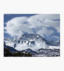 Raw And Rugged Sierras Photographic Print