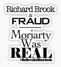 Richard Brook Is A Fraud Sticker