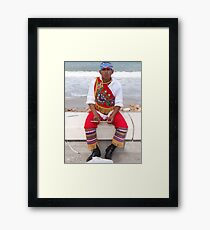 Traditional Appearance - Traje Traditional Framed Print