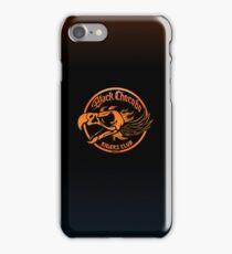Black Chocobo Riders Club iPhone Case/Skin