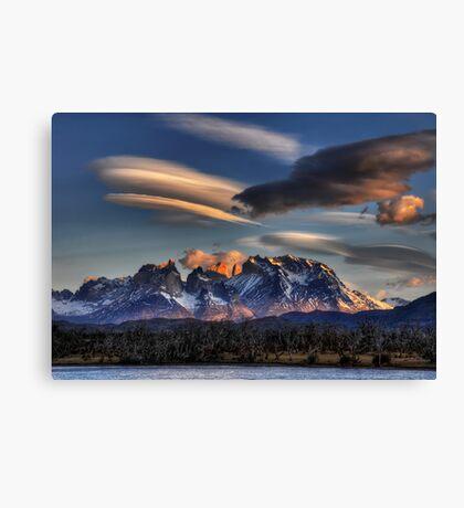 Torres Sunset Canvas Print