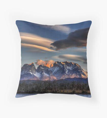 Torres Sunset Throw Pillow