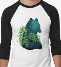 Nature's Embrace Men's Baseball ¾ T-Shirt