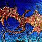 Lava dunked Dragon by chaplincat