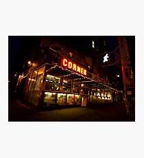 Bright Lights, Big City - Soho - New York City Photographic Print