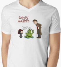 Scalvin and Maulbes Men's V-Neck T-Shirt