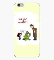 Scalvin and Maulbes iPhone Case