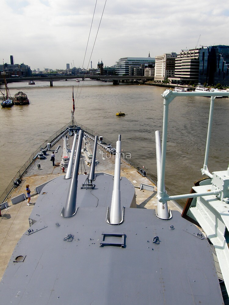 HMS Belfast  by tunna