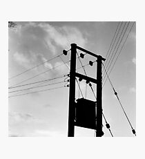 Wired-in Peebles Photographic Print